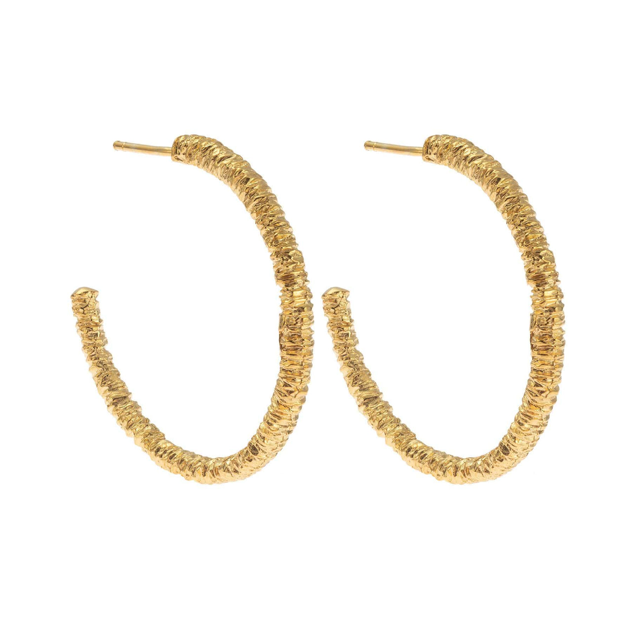 Hissia Earrings Gold Marrakech Hoop Earrings