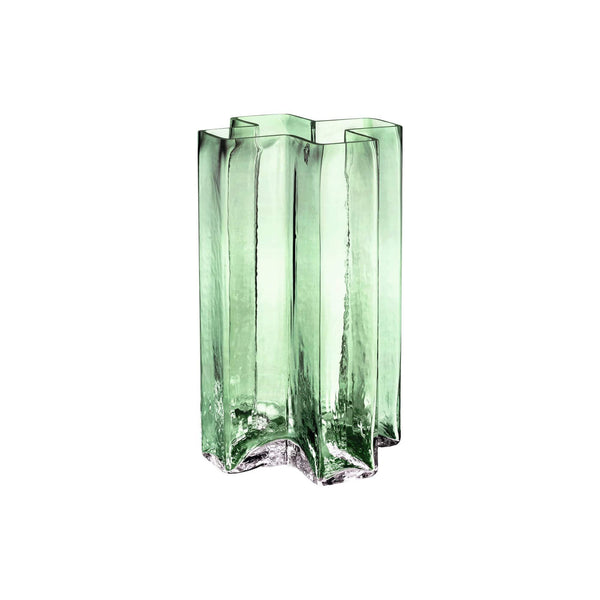 Holmegaard Decor Holmegaard Crosses Vase, Green, 7""