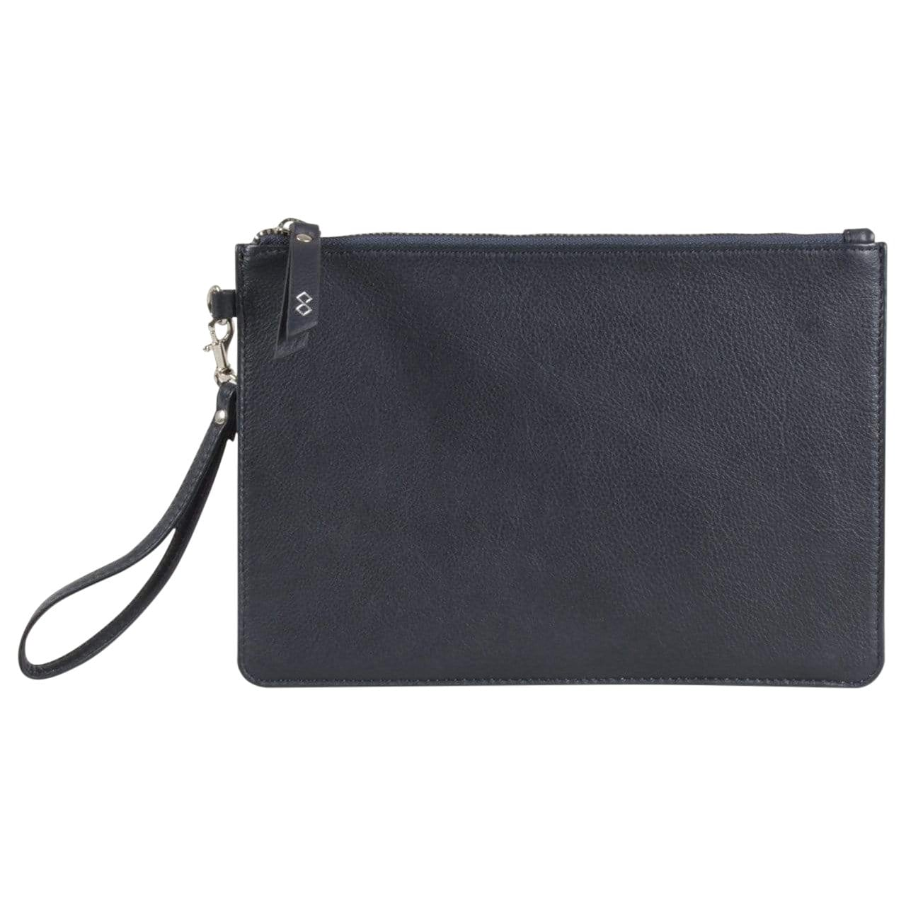 Issara Handbags & Clutches navy Leather Clutch