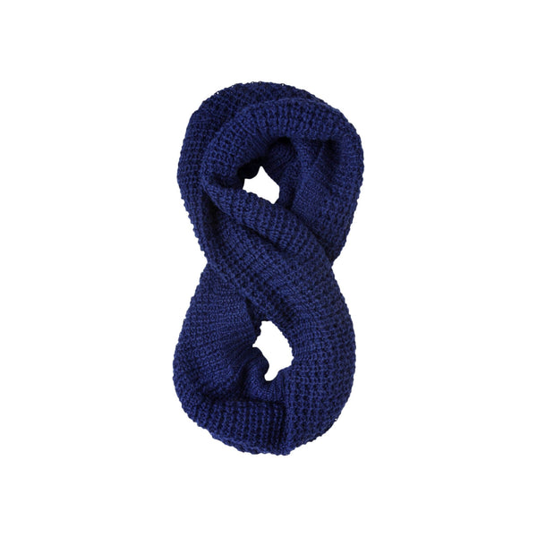 Johanna Howard Home Hats, Gloves & Scarves Ink Waffle Knit Infinity Scarf