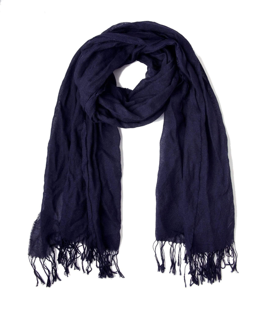 Johanna Howard Home Hats, Gloves & Scarves Navy Whisper Weight Scarf