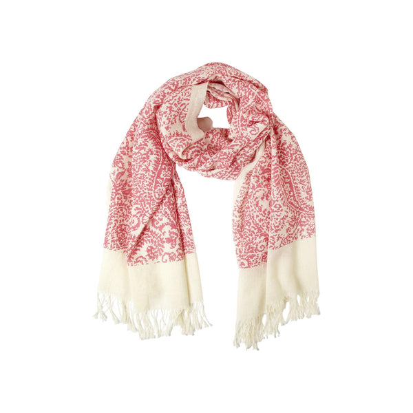 Johanna Howard Home Hats, Gloves & Scarves Rose Orchid/Natural Vintage Paisley Scarf
