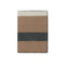 Johanna Howard Home Home Decor Camel/Charcoal Block Stripe Throw