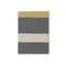 Johanna Howard Home Home Decor Charcoal/Citrus Block Stripe Throw
