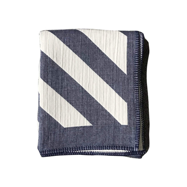 Johanna Howard Home Home Decor Indigo / 100% Cotton Lagom Throw