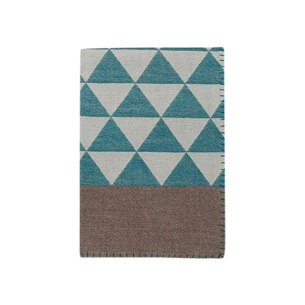 Johanna Howard Home Home Decor Peacock/Taupe Stockholm Throw