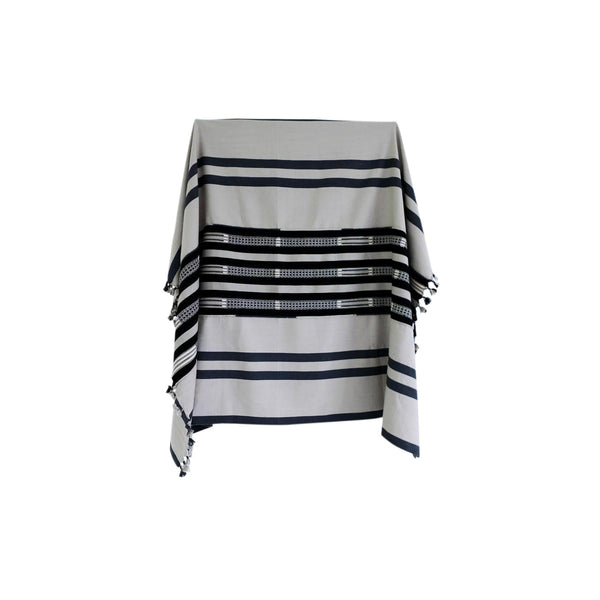 KARU Cushions & Throws Everywhere Throw in Grey