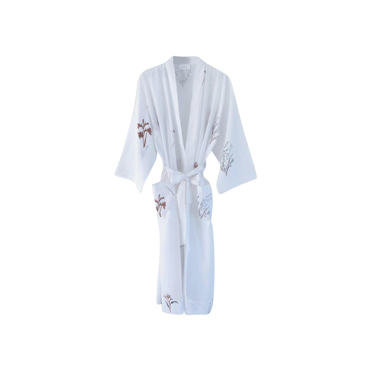 KARU Sleepwear One Size Fynbos Robe in Organic Cotton