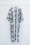 KARU sleepwear One Size Prickly Pear Robe in Grey