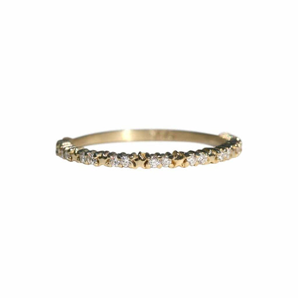 KIMBERLY DOYLE JEWELRY Lucky Charm Band with stars and Diamonds