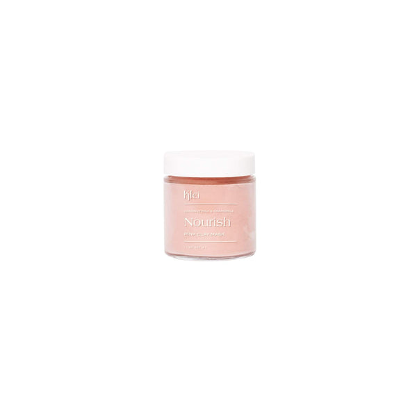 Klei Beauty Face 3oz Coconut Milk & Chamomile Nourish Pink Clay Mask