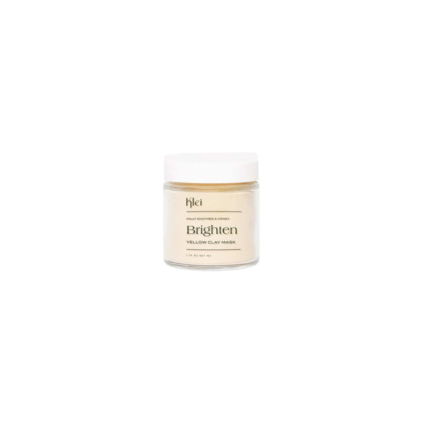 Klei Beauty Face 3oz Fruit Enzymes & Honey Brighten Yellow Clay Mask