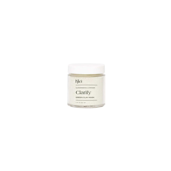 Klei Beauty Face 3oz SuperGreens & Lavender Clarify Green Clay Mask
