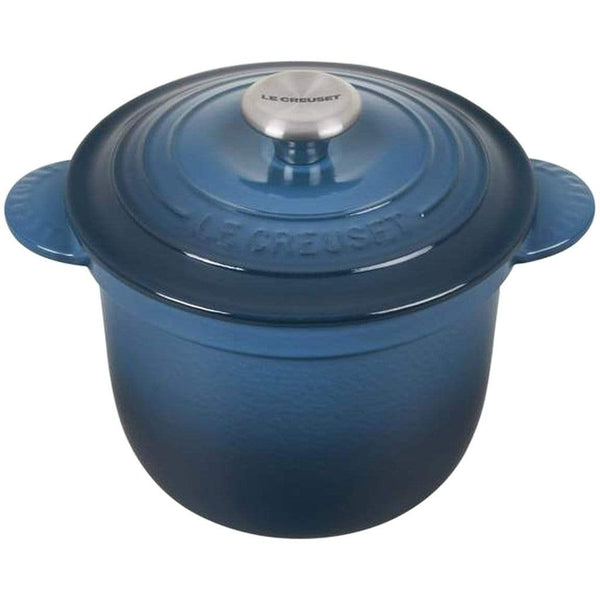 Le Creuset Cookware Deep Teal Signature Cast Iron Rice Pot