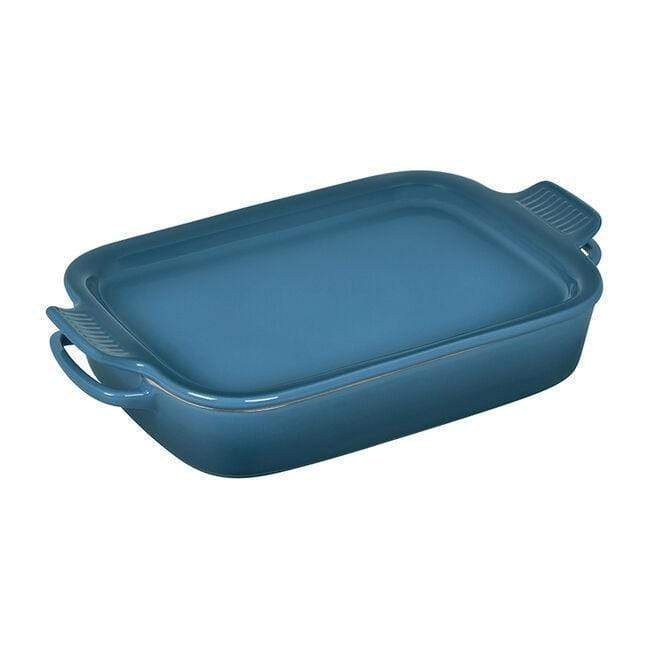 Le Creuset Cookware Marseille Rectangular Dish with Platter Lid