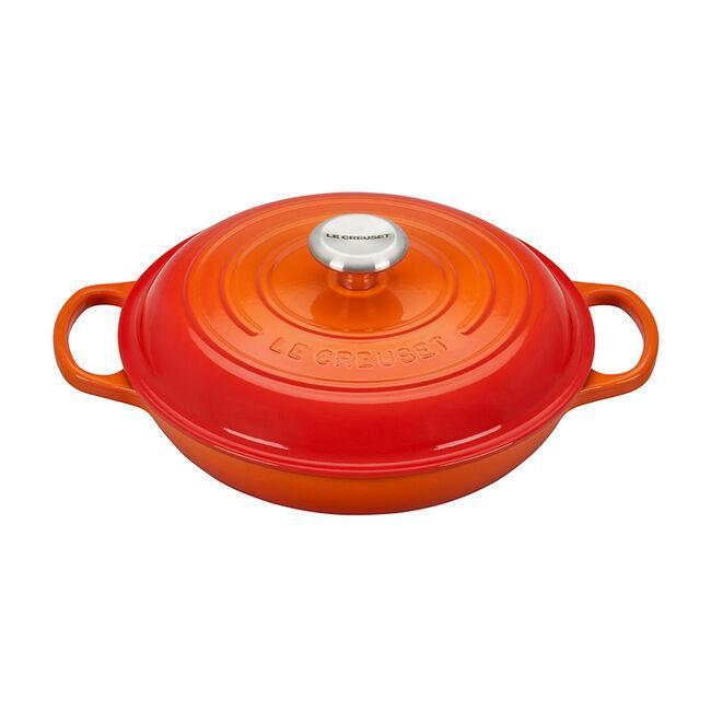 Le Creuset Cookware Signature 3.5-Qt. Braiser with Lid