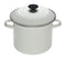 Le Creuset Cookware White 8-qt Enamel on Steel Stock Pot with Lid