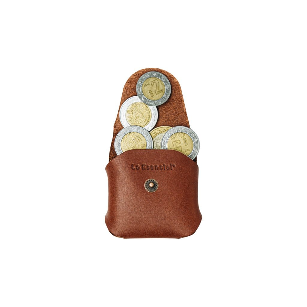 Lo Esencial Wallets & Card Holders Clásico Asset Leather Coin Holder Pouch