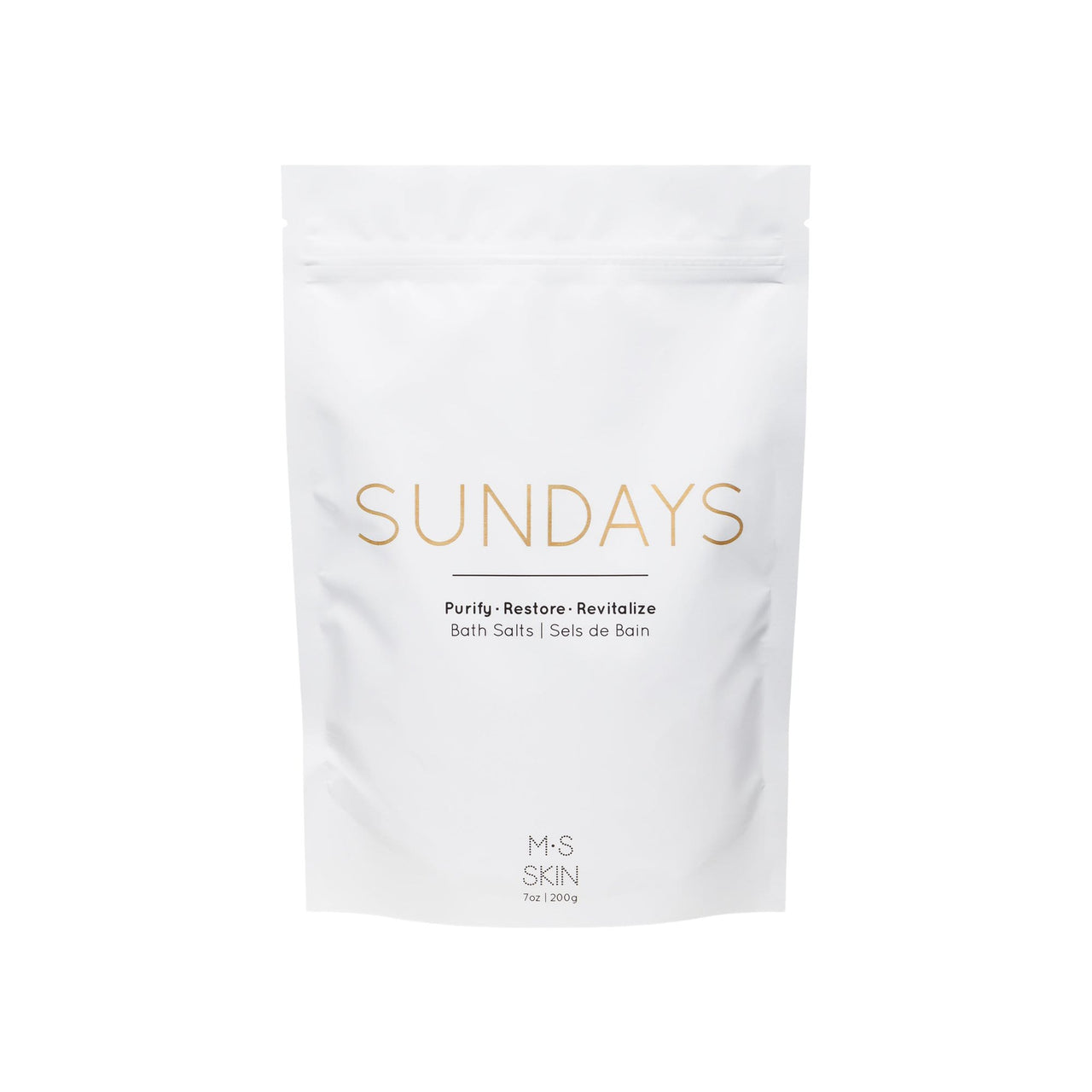 M.S Skincare Body Sundays Detox Bath Salts