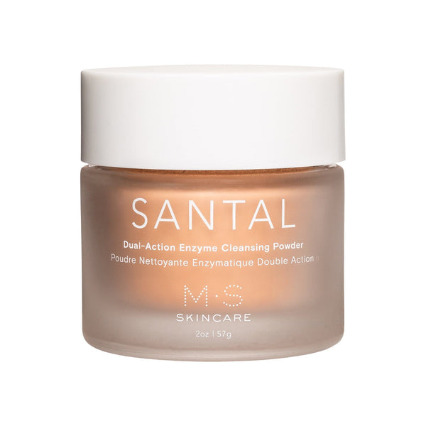 M.S Skincare Face Santal Dual-Action Enzyme Cleansing Powder