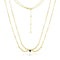 Mel Bandeira Necklaces Gold Plated Sterling Silver Bow and Arrow Necklace