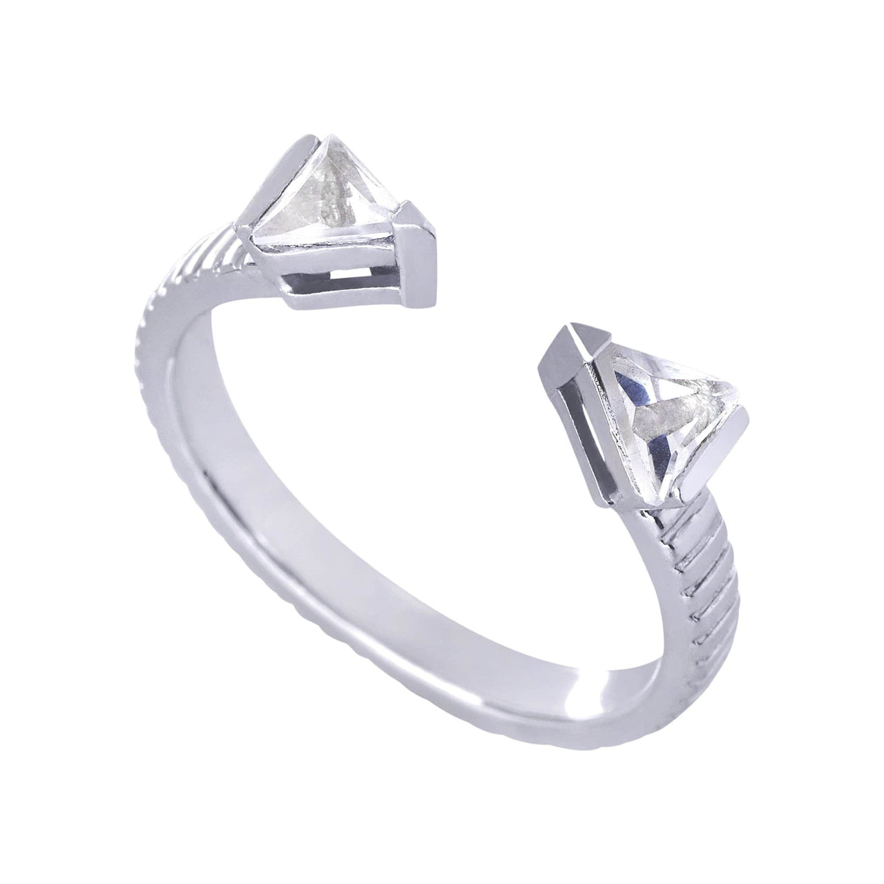 Mel Bandeira Rings Arrow Ring with Crystal