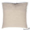 Michele Varian Cushions & Throws Default Printed Linen Pillow Grid Petrol