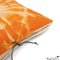 Michele Varian Cushions & Throws Default Printed Linen Pillow Starburst Orange