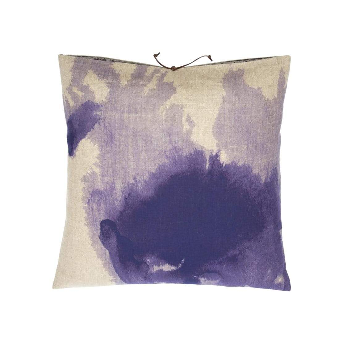 Michele Varian Cushions & Throws Default Printed Linen Pillow Wash Lilac