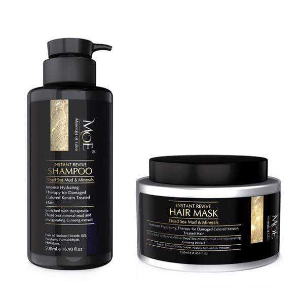 Minerals of Eden Hair Instant Revive Shampoo & Hair Mask Set