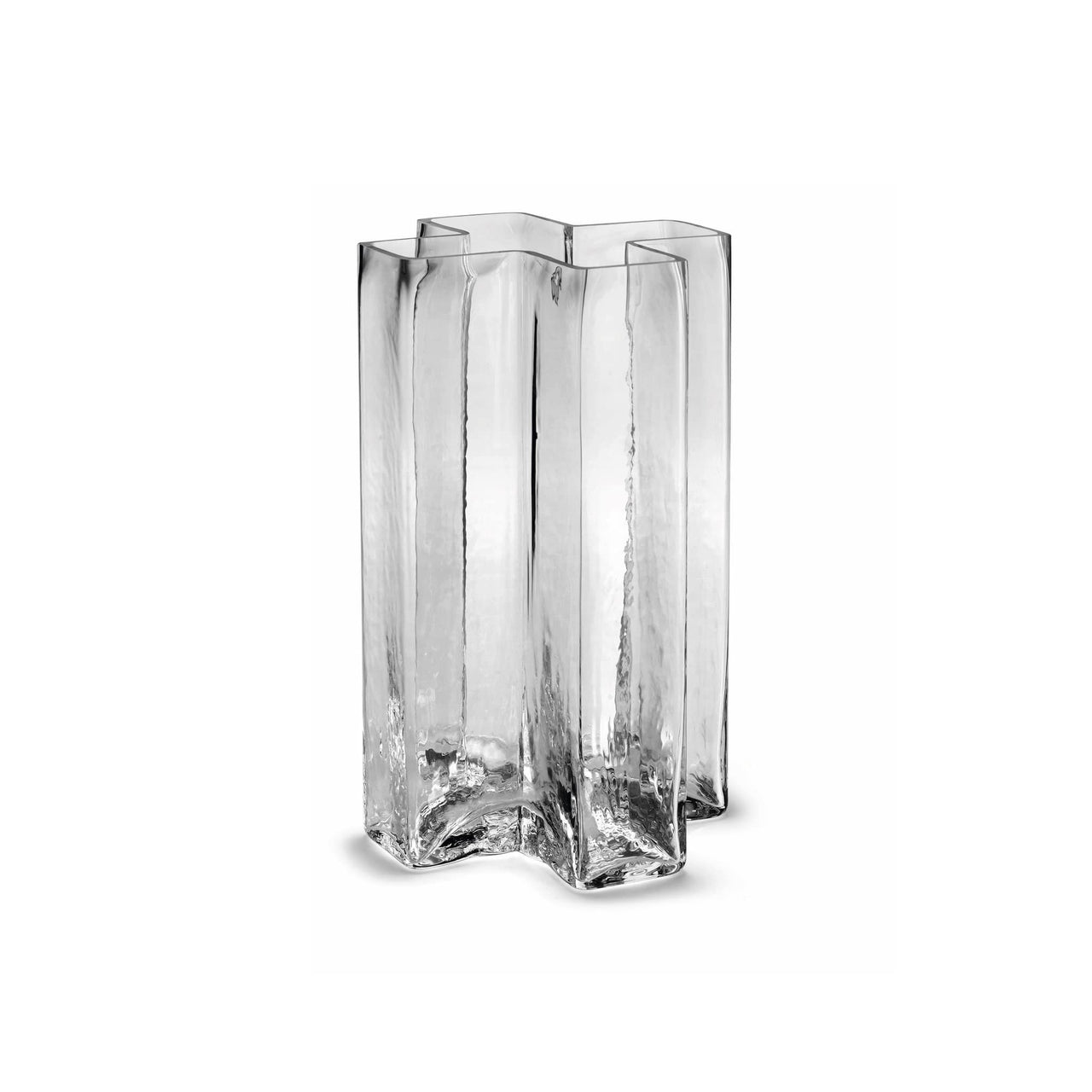 NORMODE Decor Holmegaard Crosses Vase, Clear, 7""