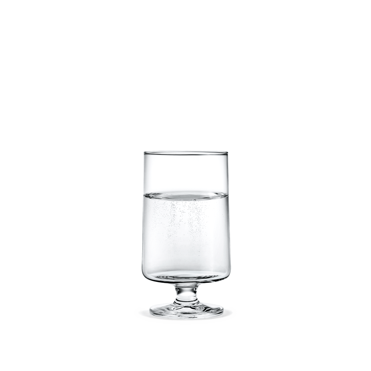 NORMODE Glassware Holmegaard Stub Glass, 12.2 oz, 2 Pcs.