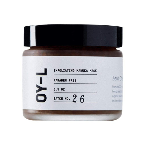 OY-L Face 3.5oz Exfoliating Manuka Mask