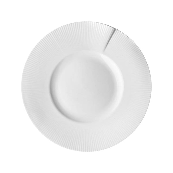 Pillivuyt Plates & Bowls Canopée Large Rimmed Plate - Set of 4