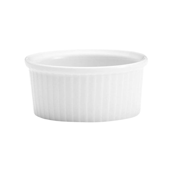 Pillivuyt Plates & Bowls Classic Pleated Ramekins - Set of 6