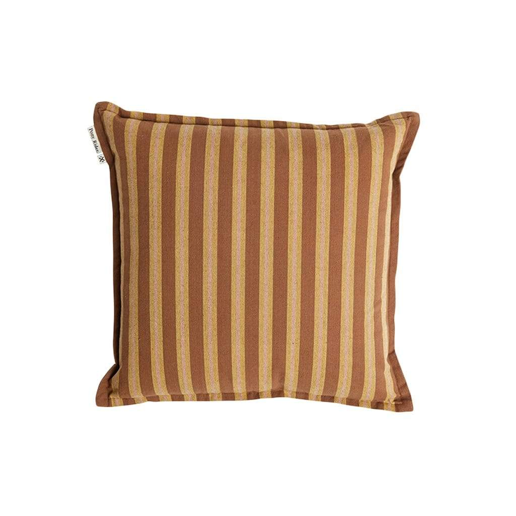 Pony Rider Home Decor Rusty Desert Safari Stripe Cushion Cover