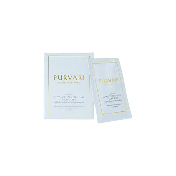 Purvari Skincare Masks & Steams Advanced Nourishing Clay Mask (2 Pack)