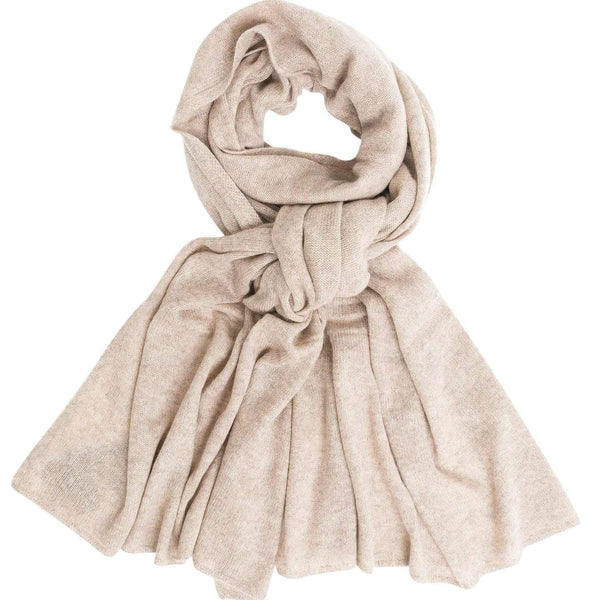 Quinn ACCESSORIES Natural Combo Lora Cashmere Wrap