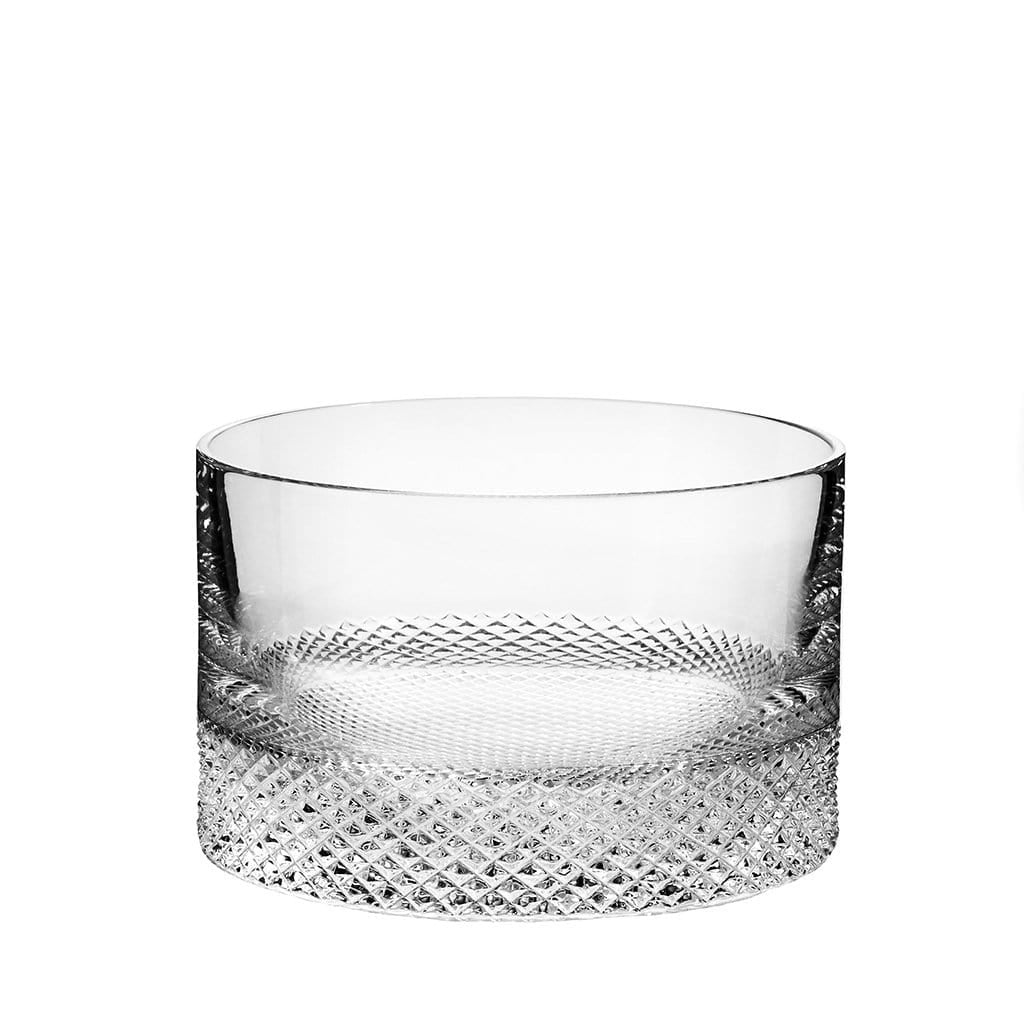 Richard Brendon Barware Diamond Cut Crystal Ice Bucket