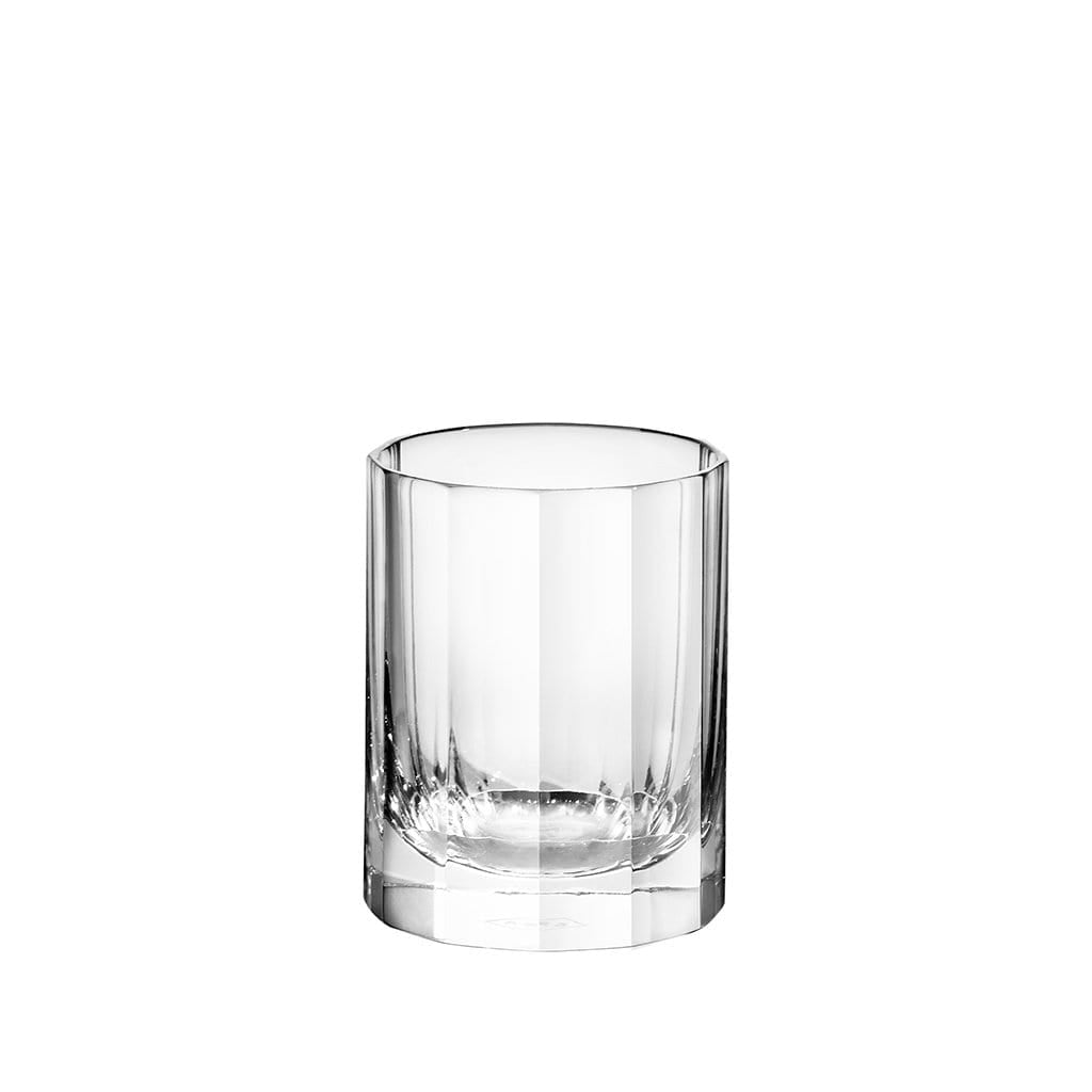 Richard Brendon Barware Fluted Crystal Shot Glasses - Set of 2