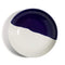 Richard Brendon Tabletop Cobalt Dip Creamware Coupe Dinner Plate