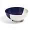 Richard Brendon Tabletop Cobalt Dip Creamware Deep Serving Bowl