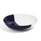 Richard Brendon Tabletop Cobalt Dip Creamware Shallow Serving Bowl