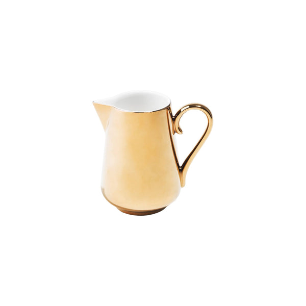 Richard Brendon Tabletop Reflect Gold Milk Jug