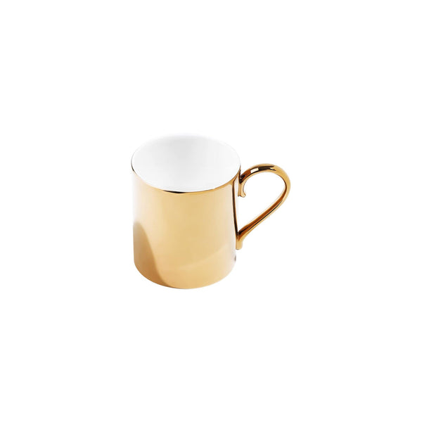 Richard Brendon Tabletop Reflect Mirrored Gold Mug