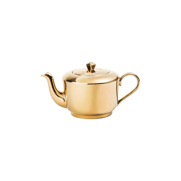 Richard Brendon Tabletop Reflect Mirrored Gold Teapot