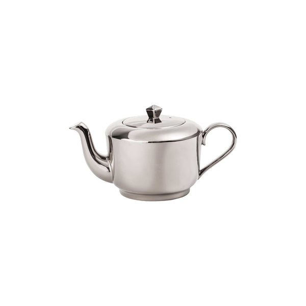 Richard Brendon Tabletop Reflect Mirrored Platinum Teapot