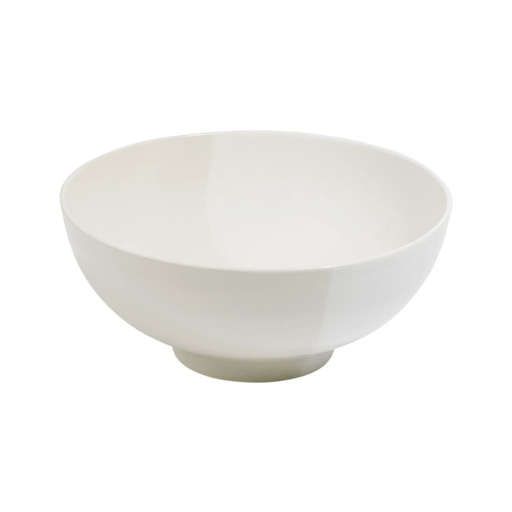 Richard Brendon Tabletop White Dip Creamware Deep Serving Bowl