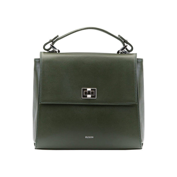 RUSKIN Handbags & Clutches Birch Aster Leather Handbag