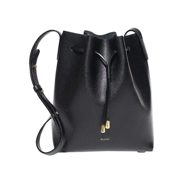 RUSKIN Shoulder, Crossbody & Belt Bags Black Nara Mini Bucket Bag